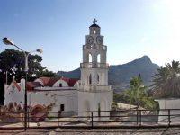 Монастырь Цамбики на острове Родос