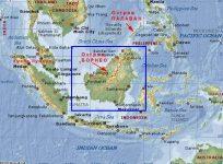Остров Борнео где находится