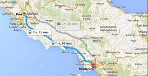 Как добраться из Рима в Неаполь самостоятельно