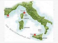 Где находится остров Корсика