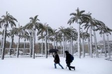 Погода в Израиле зимой на курортах
