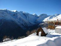 Домбай горнолыжный курорт где находится